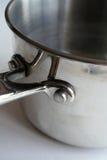 Potenciômetro do aço inoxidável Imagens de Stock Royalty Free