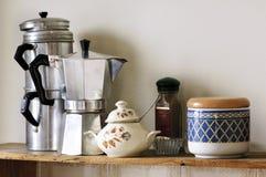 Potenciômetro do café Fotos de Stock