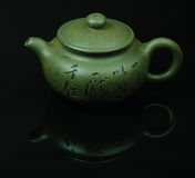 Potenciômetro do chá Fotos de Stock