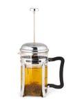 Potenciômetro do chá verde Imagens de Stock
