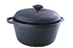 Potenciômetro do ferro de molde fotografia de stock
