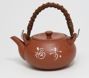 Potenciômetro japonês do chá. Fotos de Stock