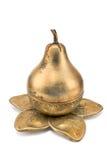 Potenciômetro pear-shaped de bronze antigo imagem de stock royalty free