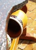 Potenciômetro tradicional pintado à mão imagem de stock royalty free