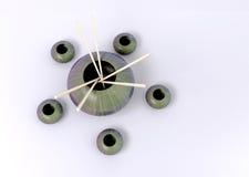 Potenciômetros com modelo das varas 3d Imagem de Stock Royalty Free