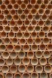Potenciômetros da planta do Terracotta fotos de stock
