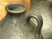 Potenciômetros de argila Fotos de Stock