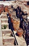 Potenciômetros de Knossos Fotografia de Stock Royalty Free