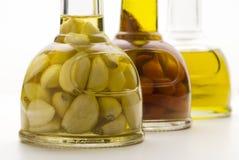 Potenciômetros do petróleo verde-oliva Imagem de Stock