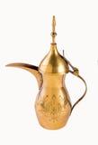 Potenciômetro árabe de Coffe Fotos de Stock