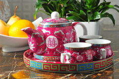 Potenciômetro chinês do chá Foto de Stock