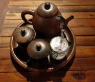 Potenciômetro chinês do chá Imagem de Stock Royalty Free