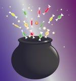 Potenciômetro da bruxa Imagem de Stock Royalty Free