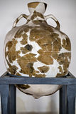 Potenciômetro de argila recondicionado descoberto imagens de stock