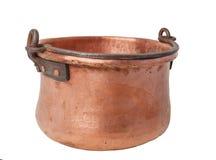 Potenciômetro de cobre retro Fotos de Stock Royalty Free
