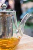 Potenciômetro do chá e do café Imagem de Stock