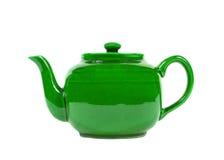 Potenciômetro do chá isolado imagens de stock royalty free