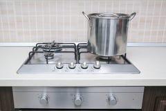 Potenciômetro do fogão Fotos de Stock Royalty Free