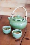 Potenciômetro japonês do chá imagens de stock