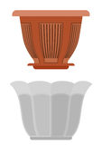 Potenciômetro para a flor do vaso de flores imagem de stock royalty free