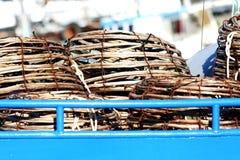 Potenciômetros das lagostas Fotografia de Stock Royalty Free