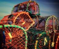 Potenciômetros de lagosta em Brigghton Foto de Stock