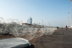Potenciômetros de pesca tradicionais Foto de Stock