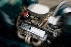 Potencia de caballo del motor Imagen de archivo