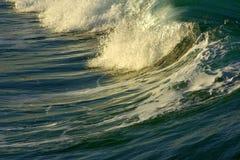Potencia de la energía de onda Fotografía de archivo