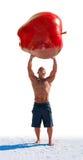 Potencia de la fruta y de la consumición sanas Imagen de archivo libre de regalías