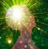 Potencia de la mente Foto de archivo libre de regalías