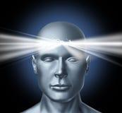 Potencia de la mente Foto de archivo