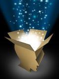 Potencia de la mente Imagen de archivo libre de regalías