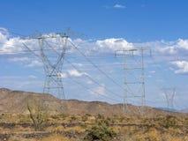 Potencia de la montaña del desierto fotografía de archivo libre de regalías