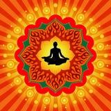 Potencia de la yoga ilustración del vector