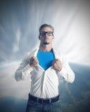 Potencia de un hombre de negocios foto de archivo