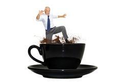 Potencia del café Fotos de archivo
