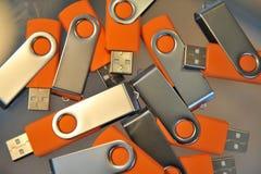 Potencia del palillo del USB Fotografía de archivo