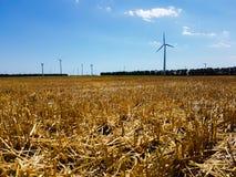 Potencia del viento foto de archivo