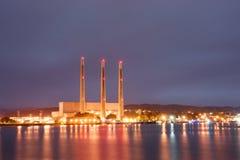 Potencia en la bahía Fotos de archivo