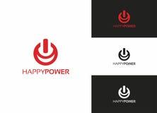 Potencia feliz Fotografía de archivo libre de regalías
