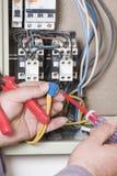 Potencia y electricidad Imagen de archivo