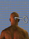 Potencial da mente de Windows Imagens de Stock