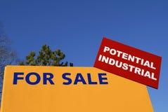 Potencial industrial imagem de stock