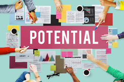 Potential Ability Capacity Opportunity Success Concept Royalty Free Stock Images