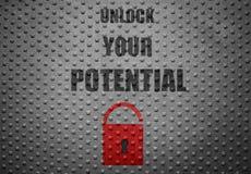 Potential Unlock Stock Image