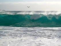 Potenza degli oceani Fotografia Stock Libera da Diritti