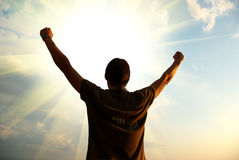Potenza del dio Immagini Stock Libere da Diritti