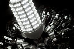 Potenza del LED immagini stock