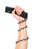 Potenza del telefono Fotografia Stock Libera da Diritti